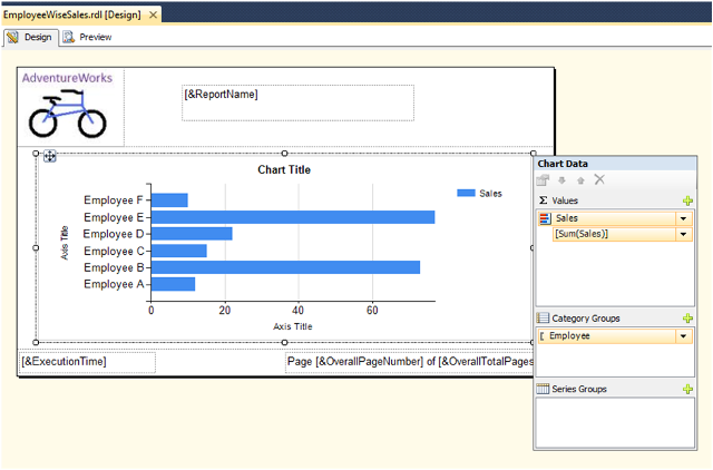 Bar Chart Report in SSRS-5