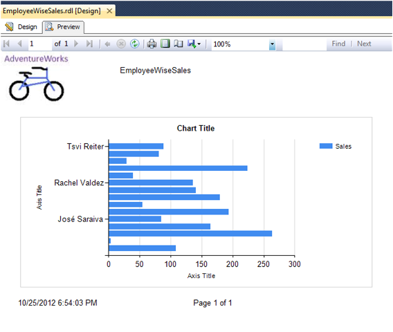 Bar Chart Report in SSRS-6