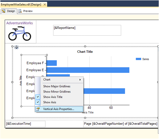 Bar Chart Report in SSRS-7