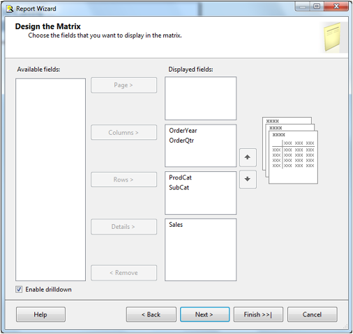 Create Matrix Report in SSRS-11