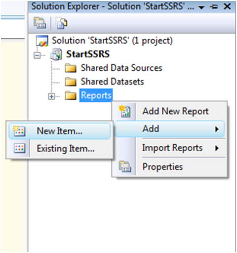 Create Matrix Report in SSRS-3