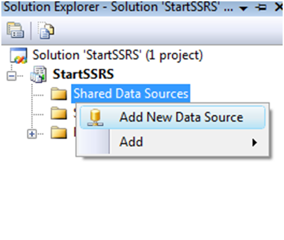 Create Shared Data Source in SSRS-1
