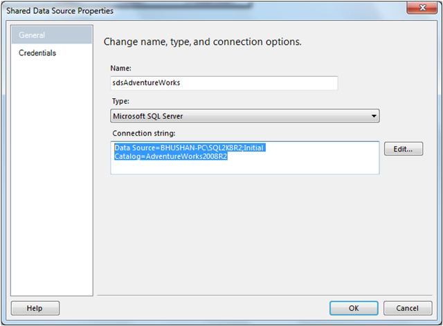Create Shared Data Source in SSRS-6