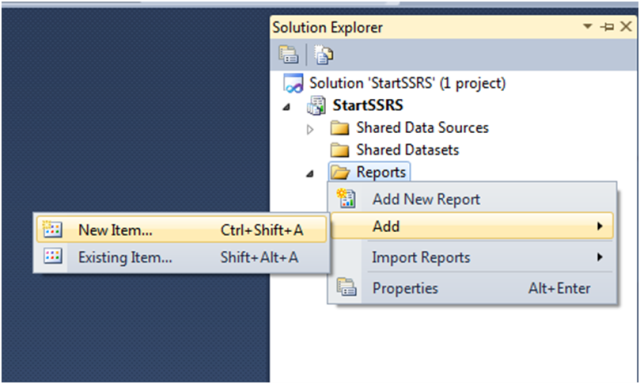 Custom Report Template in SSRS-1