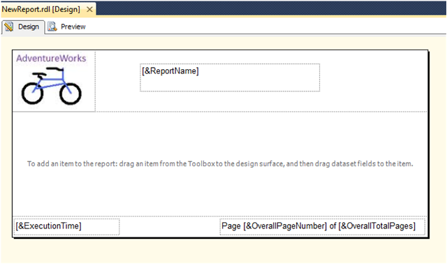 Custom Report Template in SSRS-9