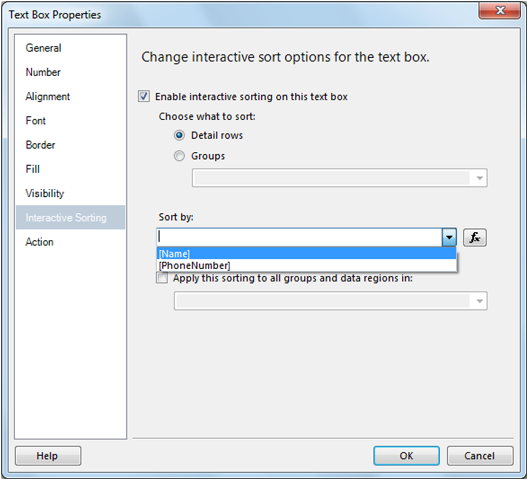 Interactive Sorting in SSRS-10