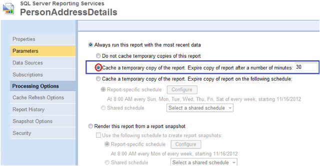 4-Caching SSRS Reports
