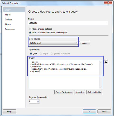 4-WebService as DataSource in SSRS