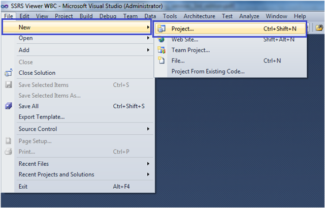 1-Create Custom Report Viewer Using the WebBrowser Control in Windows Application
