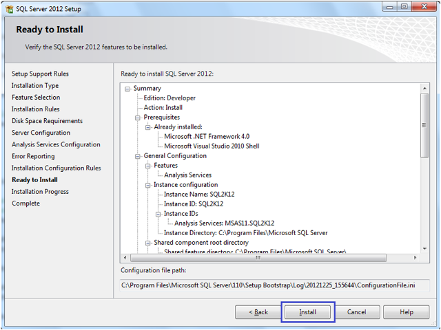 10-Installing SQL Server 2012 Analysis Services Tabular Mode
