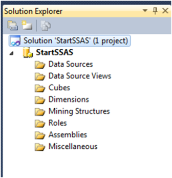 4-Create a Data Source in SSAS