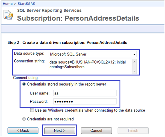 4-Data-Driven Subscriptions in SSRS