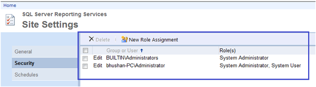 4-User Roles and Permissions in SSRS-1