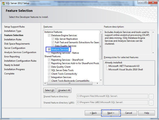 5-Installing SQL Server 2012 Analysis Services Tabular Mode