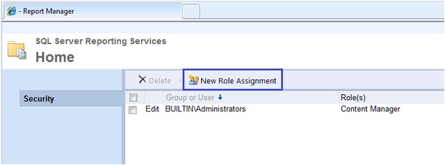 6-User Roles and Permissions in SSRS