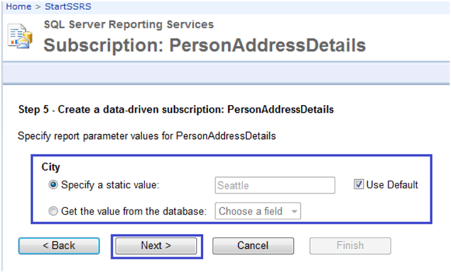 7-Data-Driven Subscriptions in SSRS