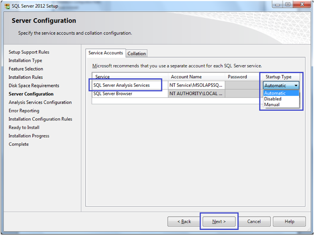 7-Installing SQL Server 2012 Analysis Services Tabular Mode