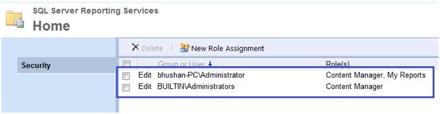 7-User Roles and Permissions in SSRS-2