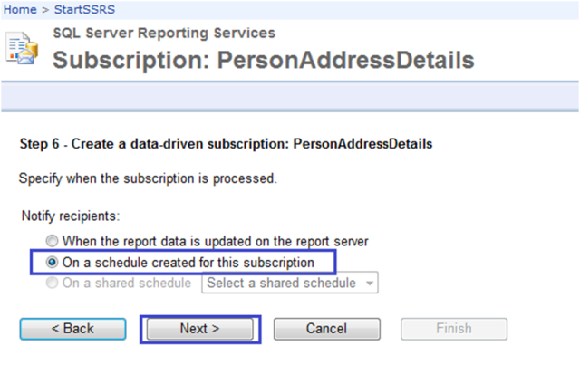 8-Data-Driven Subscriptions in SSRS