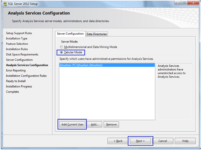 8-Installing SQL Server 2012 Analysis Services Tabular Mode