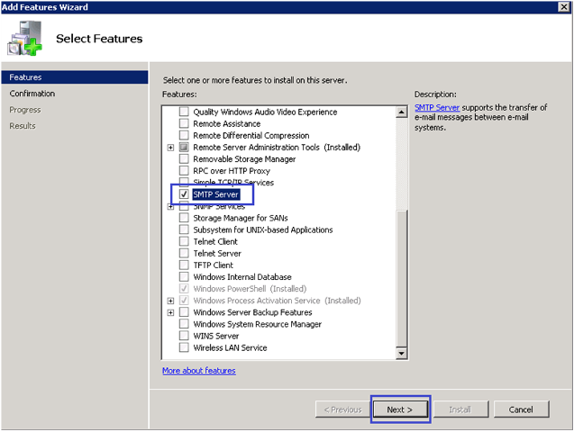 1-Email Configuration in SSRS with SMTP in Windows Server 2008R2