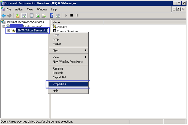 3-Email Configuration in SSRS with SMTP in Windows Server 2008R2