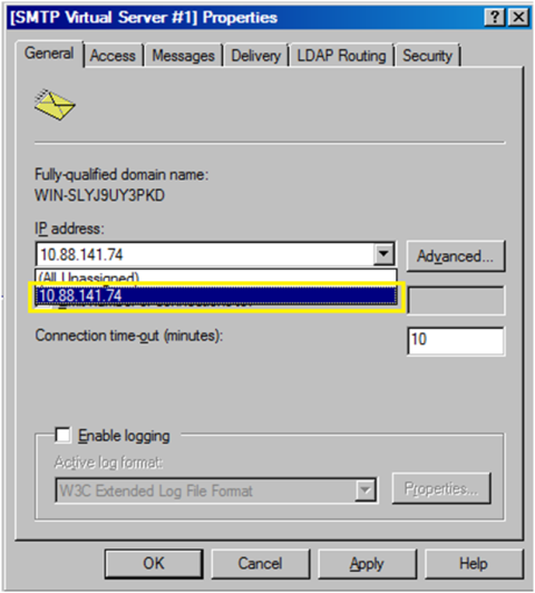 4-Email Configuration in SSRS with SMTP in Windows Server 2008R2