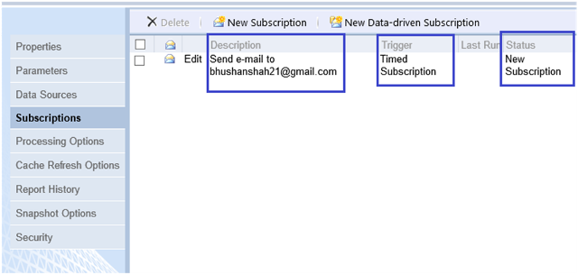 6-Email Subscriptions for SSRS Reports