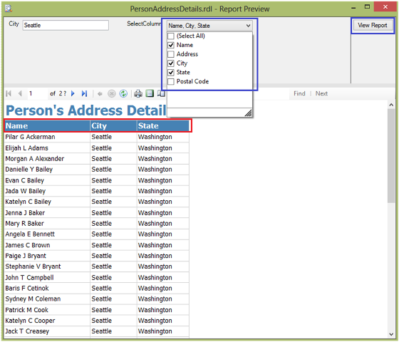 9-Conditionally Setting Column Visibility in SSRS